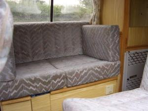 The settee/bed