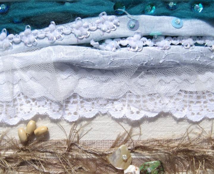 seashore white frame close-up sm